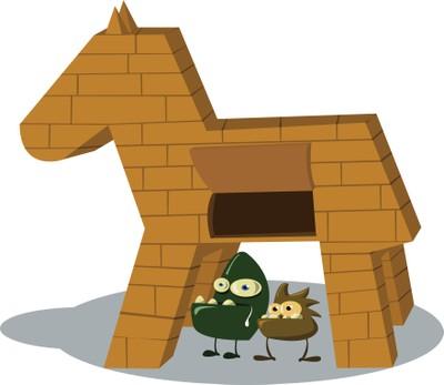 Trojan Horse Ociated Words