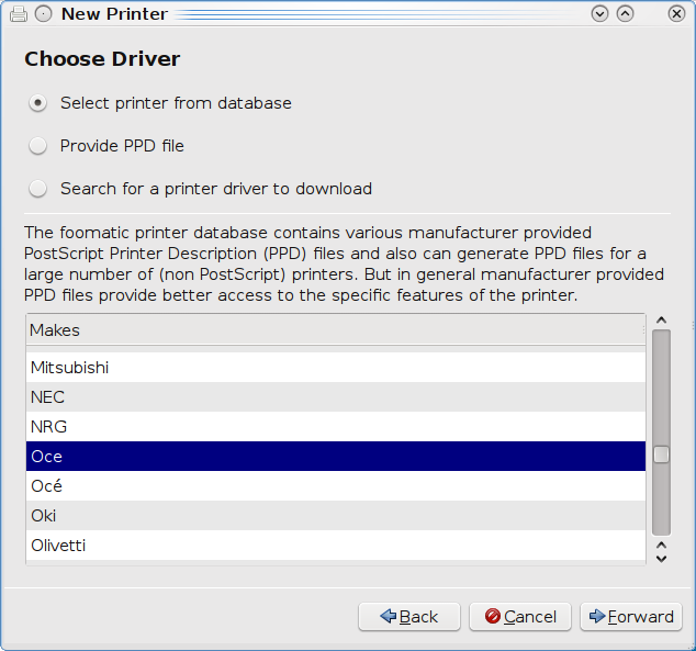 Installation of an ICTS PC-room printer in Linux (Kubuntu) – ICTS