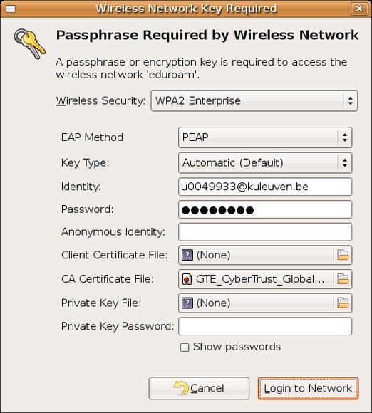 Configure your wireless network on Linux (Ubuntu) – ICTS