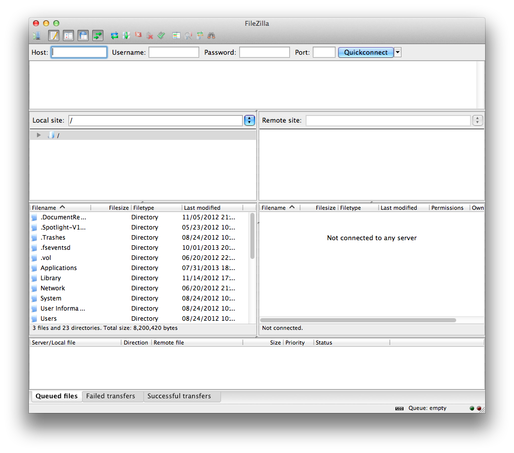 Transferring files with FTP – ICTS