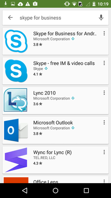 OLD_PAGEInstall Lync for use on Android – ICTS