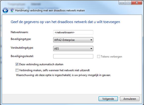 Draadloos Netwerk Instellen Op Windows 7 Icts