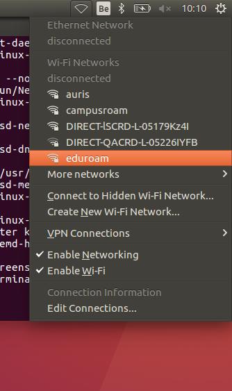Het Draadloos Netwerk Instellen Op Linux Ubuntu Icts